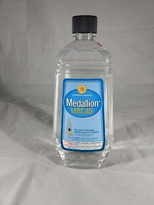 Lamplight Medallion Lamp Oil - 32oz, 1qt, 946ml. For use in oil lamps. Prepping