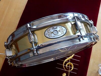 Piccolo Snare Pearl B11330 13x0,3 Messing + wood hoop