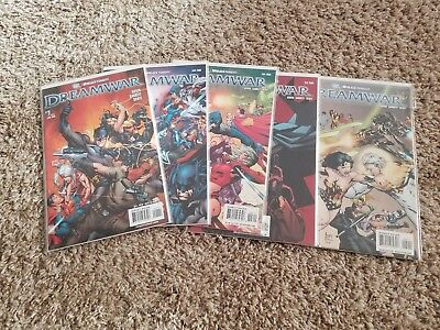 DreamWar 1 2 3 4 5 6 Complete Run Set Lot 1-6 Wildstorm VF/NM