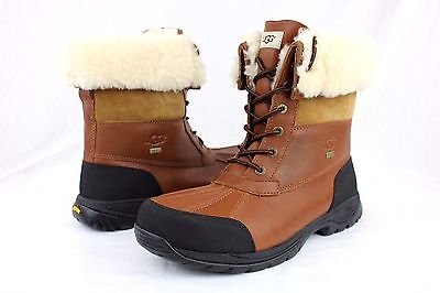 18236c20b91 UGG AUSTRALIA BUTTE 5521 Waterproof Worchester Leather Boots Mens Size 9 Us