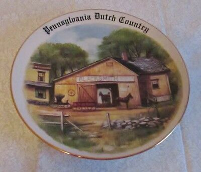 Pennyslvania Dutch Country collectable plate