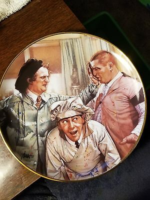 """The Three Stooges """"Pop Art"""" Collector Plate FREE SHIPPING!!"""