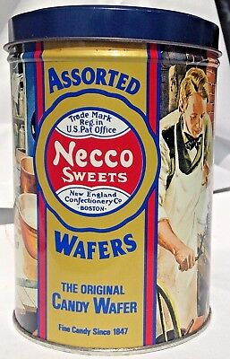 Necco Assorted Wafers Tin