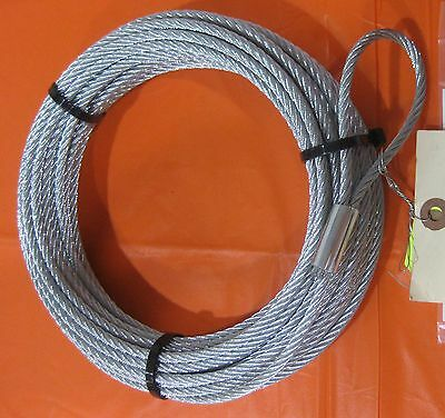 Warn 60076 Wire Rope Cable Replacement 3/16 50 ATV Winch A2000 A2500 2.5ci 3.0ci