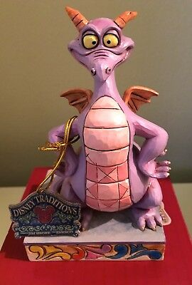 Disney's Figment Statue Autographed by the Designing Artist Jim Shore New in Box