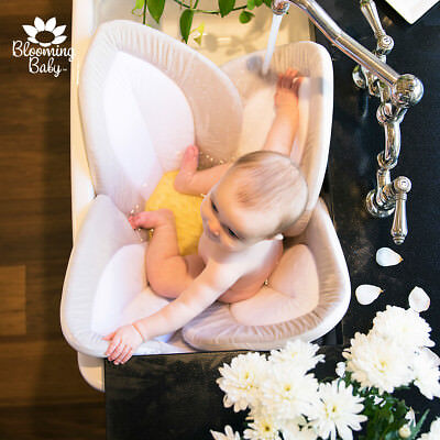 Baby Bath -Blooming Bath Lotus By BLOOMING BABY (White/Yellow)