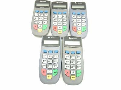 Lot of 5 VeriFone PinPad 1000SE Keypads