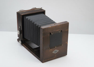 Unique 5x7 Keith Portrait Wood Studio Camera Vintage Film Alternative Process NR