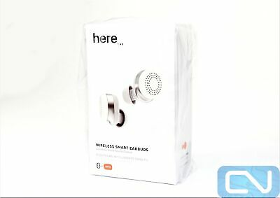 New* Here One Wireless Smart Earbuds 3-in-1 Noise Cancelling, Hearing Aid *White