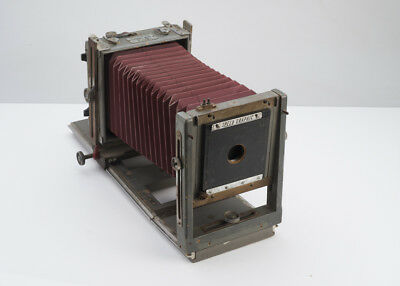 Burke & James Vintage Wood 4x5 Studio Camera Packard Shutter No Reserve Auction!