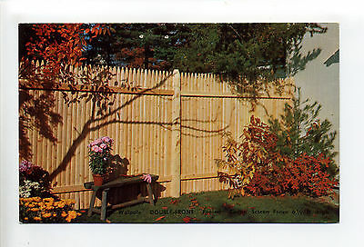 Walpole MA Mass, Ad for Walpole Woodworkers Double Front Cedar Screen fence