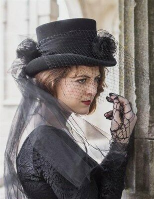 Victorian Trading Co Gothic Equestrienne Top Hat La Femme Riding