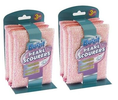 Duzzit Heavy Duty Pearl Scourers Remove Grease & Grime With Ease