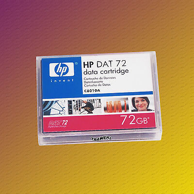 HP C8010A, DAT 72, DDS 5, 36/72 GB, Data Cartridge Datenkassette, NEU & OVP