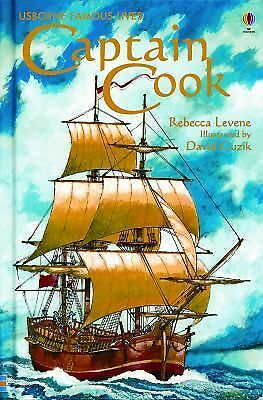 Captain Cook (Usborne Famous Lives Gift Books)