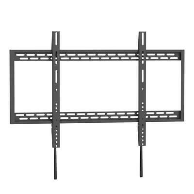 led lcd plasma curved black glass tv stand with tv mount 37 65 for samsung sony eur 43 60. Black Bedroom Furniture Sets. Home Design Ideas