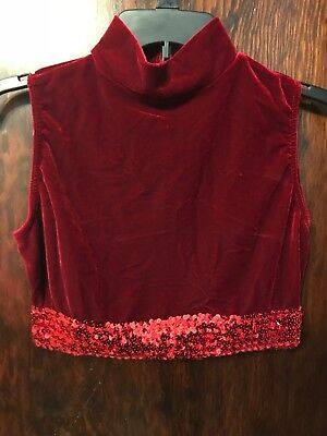 Velour Dance Tops by Viscaria