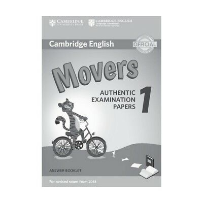 Cambridge English Young Learners Test Movers 1 for revised exam from 2018, Ans..
