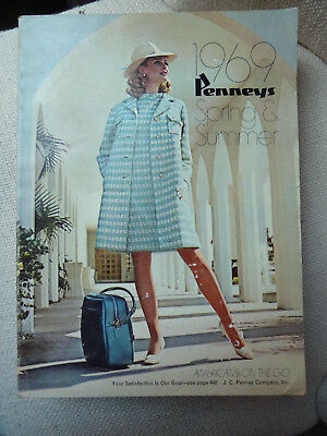 1969 J C Penney Catalog Spring Summer Mid-Century Fashion Home Decor Vintage