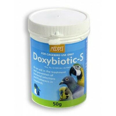 Pigeon Product - Doxybiotic-S - bacterial infections - by MedPet - Racing Pigeon
