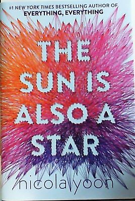The Sun is also a Star By Nicola Yoon (Paperback   English) Brand New