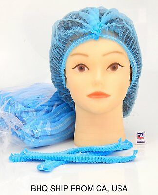 100 Pcs Disposable Hair Net Cap