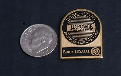 Buick LeSabre J.D. Power and Associates Initial Quality Vintage Pin