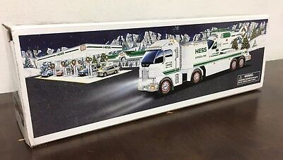 2006 Hess Toy Truck Trailer including Helicopter, Unopened in the Box