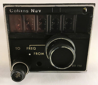 Collins VIR-351 NAV TSO PN 622-2080-001 with Tray