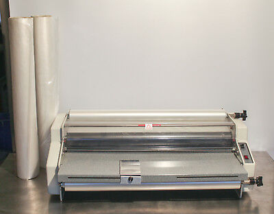 """Ledco Model Ed-25  25"""" Educator Thermal Roll Laminator - Excellent Working Cond"""