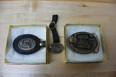 Caterpillar 75th Anniversary(Buckle, Watch Fob, Key Chain)