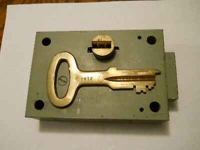 NEW COLLECTION BEING LISTED.   Heavy Duty Jail Cell LOCK - (1794)