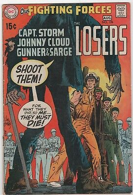 Our Fighting Forces #126 In Good/Very Good Condition (Aug. 1970, DC)