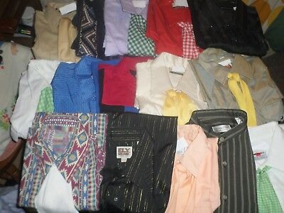 """MM5 Men's western shirts for neck size 16.5"""""""