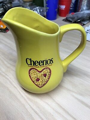 2003 Cheerios Yellow Milk Pitcher from General Mills Cereal