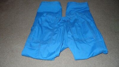 Koi by Kathy Peterson scrub pants! Size M! Nice medium blue color! Style #701P!