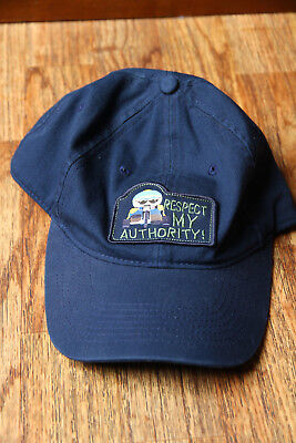 South Park Hat Adjustable Respect My Authority Cartman Embroidered Patch 2005