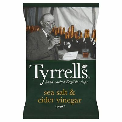 Tyrrells | Sea Salt & Cider Vinegar Crisps 150g
