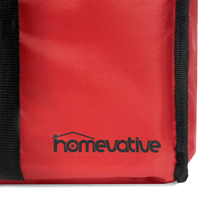 Homevative Nylon Insulated Food Delivery and Reusable Grocery Bag For Catering