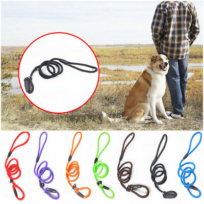 140CM Pet Dog Nylon Rope Training Leash Lead Strap Adjustable Traction Collar