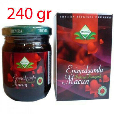 Themra Epimedium Paste - 240 gr - Horny Goat Weed, Ginseng Herbal Aphrodisiac