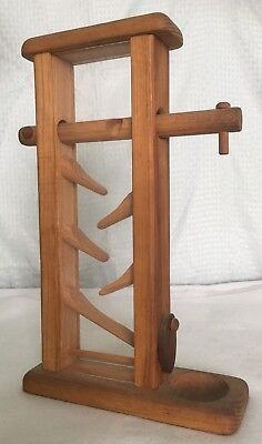 Vintage Wooden Gumball Machine By Michaud Toys