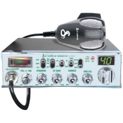 """Cobra Mobile CB Radio With Dynamike Gain Control And SWR Antenna Calibration An"
