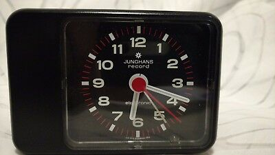 vintage alarm clock   JUNGHANS RECORD Electronic
