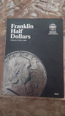 Franklin half dollar complete set