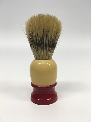 Vintage Ever-Ready C-40 Shave Brush Red/Cream