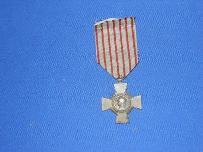 Original WWI French Combatant's Cross medal