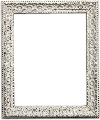 Shabby Chic Picture Photo Frame Distressed CREAM Vintage Ornate Old French Style