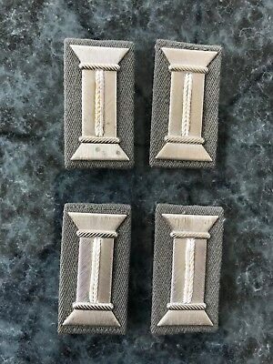 East German Officers Parade Metal Sleeve Tabs