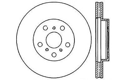Centric Parts 121.44061 Front Disc Brake Rotor